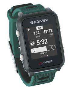 Sigma Sport Sportuhr Id.free Green