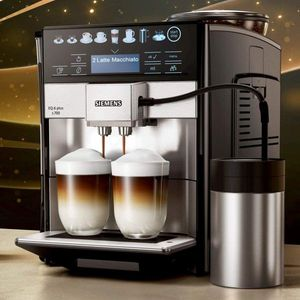 Siemens TE657503DE EQ.6 plus s700 Kaffeevollautomat Edelstahl