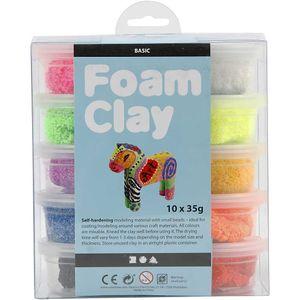 Foam Clay Tonset Basic 10 x 35 Gramm 10-teilig (78930)