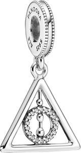 Pandora x Harry Potter Charm Anhänger 799126C01 Deathly Hallows Silber 925 Klare Zirkonia