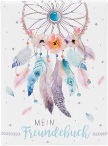 Goldbuch Freundebuch Traumfänger, Hardcover, 88 Blätter, Mädchen, Mehrfarbig, 148 mm, 210 mm