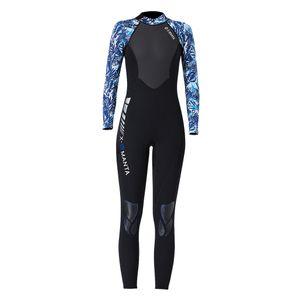 Neoprenanzug Shorty Rashguard Langarm Herren Damen Surfanzug Schwimmanzug Tauchanzug S Schwarz + Blau