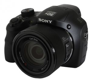 Sony Cyber-Shot DSC-HX300 Digitalkamera 20MP, 50x opt. Zoom schwarz