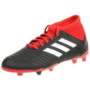 Adidas Predator 18.3 Fg J Cblack/Ftwwht/Red 38