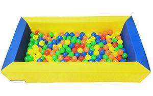 Schaumstoff Bällebadpool Drypool Ballpool inkl. 300 Bällebad Bällen mit 5,5cm Ø in der Spielqualität