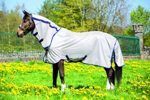 """Horseware Mio Fly Rug Fliegendecke 145cm 6'6"""" bronze/marineblau"""