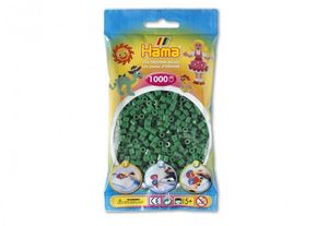 Hama-Perlen Gruen 1000Stück, 1Beutel