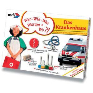 NORIS Das Krankenhaus Wissensspiel inkl. DVD Fragespiel Kartenspiel für Kinder