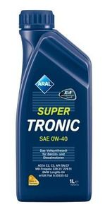 1 Liter ARAL 0W-40 SuperTronic MB 229.31 BMW Longlife-04 Fiat 9.55535-S2 MB 229.51