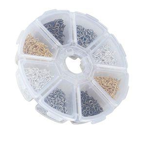 800 Stück Kleine Schraube Auge Pins Haken Ösen Pegs Schmuckzubehör 4x8mm wie beschrieben
