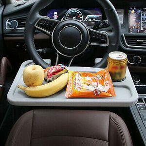Kfz Auto Esstisch Getränkehalter Mehrzwecktisch Laptop Spieltisch Lenkradtisch, für Lenkrad & Kopfstütze