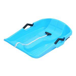 Durable Schnee Schlitten Kind Erwachsene Winter Spaß Spielzeug Downhill Schlitten Toboggan Schlitten Rodel Gras Sand Rodeln Boot Bord Slider Farbe Blau