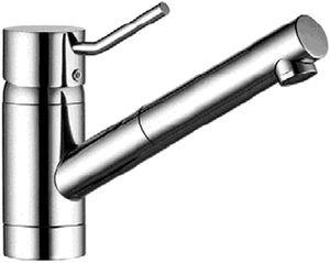 Küchenarmatur Spültisch Armatur Brause KLUDI D-TAIL 339310590 chrom