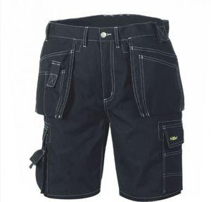 teXXor Herren Shorts Canvas (270 g/m²) Arbeits-Shorts BERMUDA 4341 Schwarz 48