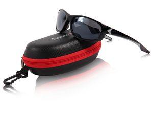 Loox Brille Malibu Sonnenbrille Damen Herren, Modell wählen:schwarz
