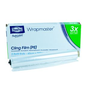 Wrapmaster PE 45cm Refiller besonders geeignet für Bäckerei- und Gastronomiebereiche