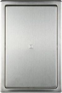 Revisionstür 200x300 mm Revisionsklappe aus Edelstahl gebürstet mit Einbaurahmen