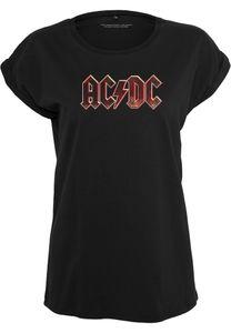 Merchcode Female Shirt Ladies AC/DC Voltage Tee Black-XS