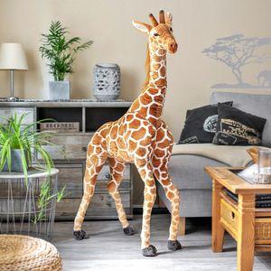 XXL Plüschtier Giraffe, Stofftier, großes Kuscheltier 130cm