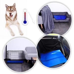 dibea Kühlmatte für Haustiere, Hundekühlmatte, kühlende Haustiermatte, XL (120 x80 cm)