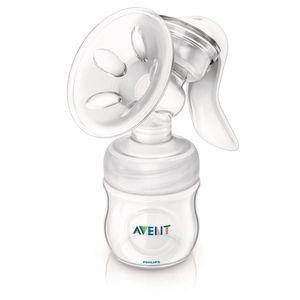 AVENT Natural Handmilch- pumpe mit 1 Flasche 125ml