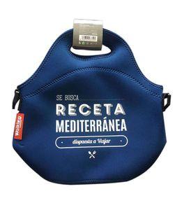 Bergner MEDITERRANEAN RECIPE Lunchbag Neopren BGEU-0843 blau