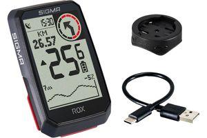 Sigma Sport ROX 4.0 GPS-Fahrradcmputer Black