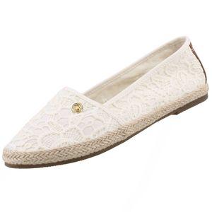 TOM TAILOR Damen Espadrilles Weiß (Creme), Schuhgröße:EUR 40