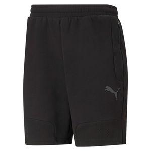 Puma Fußball teamCUP Casuals Shorts Herren schwarz grau : L Größe: L
