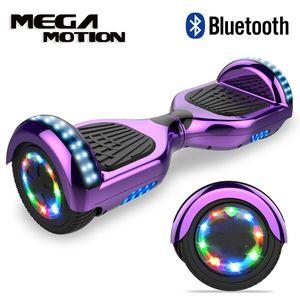 Hoverboard Citysports 6.5 Zoll Self Balance Scooter Elektroroller mit Bluetooth und Blinkenden Rädern E-Board Hover E-Skateboard