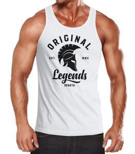 Herren Tank-Top Original Legends Gladiator Sparta Muskelshirt Muscle Shirt Neverless®  XXL