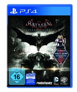 Batman Arkham Knight Day One Edition inkl. Harley Quinn DLC - PS4
