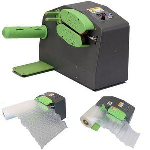MIIGA Luftpolstermaschine Luftkissenfolie-Maschine Verpackungsmaschine für Geräte Verpackungen Luftbeutel Rollen