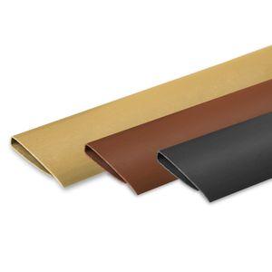 PVC Abschlussleiste Abdeckprofil Bedeckung Profile Sichtschutzmatte Sichtschutz , Farbe:anthrazit, Größe:1000 cm (10 x 100 cm), Artikel:Abschlussleiste