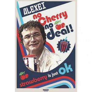 Stranger Things - Poster No Cherry No Deal TA6419 (Einheitsgröße) (Bunt)