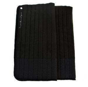 TransHorse Sport Bandagierunterlagen Memory Classic S (39 x 45 cm) velvet black (schwarz)