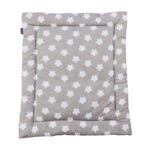 Puckdaddy Wickelauflage Smilla 65x75 cm mit Punkte Muster in Grau