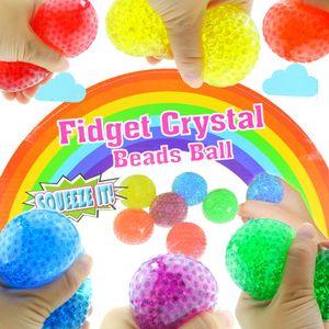 Quetschball Squeezeball Bunt 70mm Wasserperlen Knautschball Anti Stress
