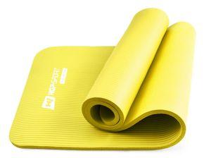 Hop-Sport Gymnastikmatte 1,5cm - rutschfeste Yogamatte für Fitness Pilates & Gymnastik  - Maße 183cm Länge 61cm Breite - gelb
