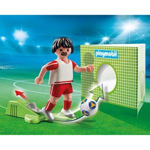 PLAYMOBIL fußballspieler Polen Junior 8-teilig