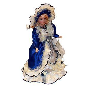 Sammlerpuppe Aus Porzellan mit Bühnenspielzeugkleidung
