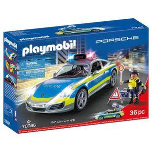 PLAYMOBIL City ActionPolizei: Porsche 911 Carrera 4S