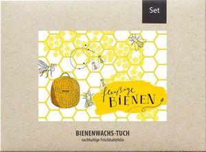 Bienenwachstuch Bienchen/ 2er-Set
