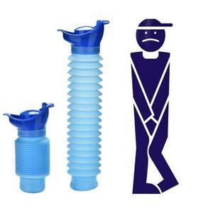 2x Unisex Tragbare Notfall Pipi Urinal Toilette  tragbare Wiederverwendbare für Unisex-Männer, Frauen, Kinder