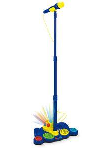 WinFun Kinder Mikrofonstativ Standmikrofon abnehmbares Mikrofon Soundeffekte