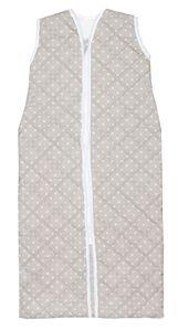 Babyschlafsack wattiert, Größe 110, grau