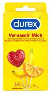 Durex Vernasch Mich Kondom-Mix Präservative Kondome Verhütungsmittel 14 Stück