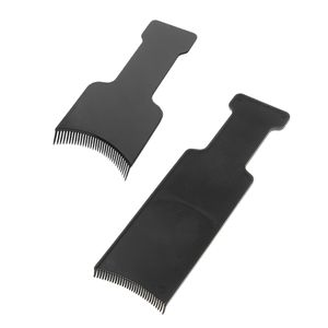 2Pcs Salon Hair Coloring Board Haarfarbe Pinsel Friseur Barber Tool