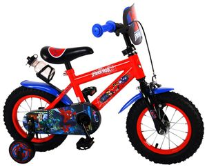 12 Zoll Kinder Jungen Fahrrad Jungenfahrrad Kinderfahrrad Kinderrad Rad Bike Spiderman Marvel Rücktritt Rücktrittbremse Volare 41254-NL