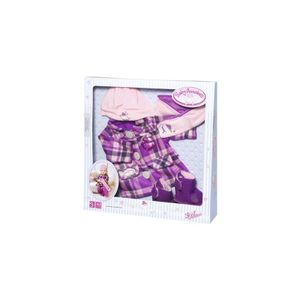 Zapf 702864 Baby Annabell Deluxe Mantel Set 43 cm